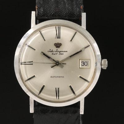 18K Jules Jurgensen Automatic Wristwatch with Date