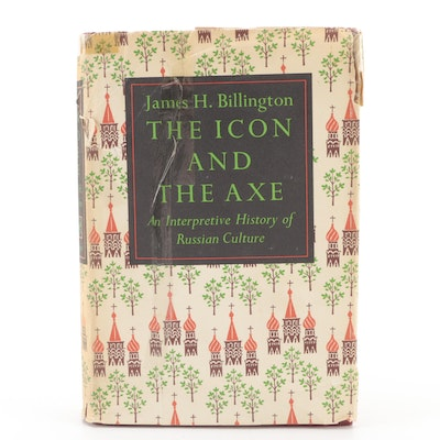 """First Edition """"The Icon and the Axe"""" by James H. Billington, 1966"""
