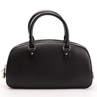 Louis Vuitton Jasmin Handbag in Noir Epi Leather