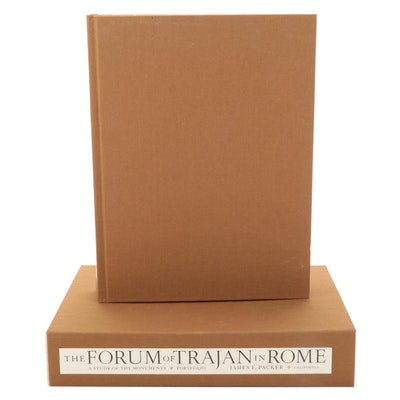 """""""The Forum of Trajan in Rome"""" Two-Volume Collection by James E. Packer, 1997"""