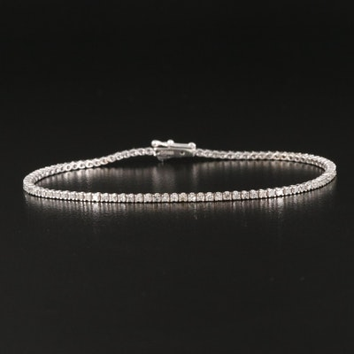 14K 1.20 CTW Diamond Line Bracelet
