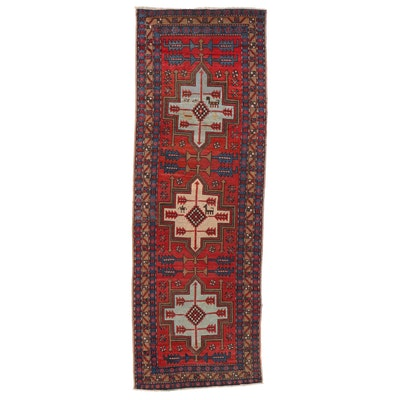 3'5 x 9'9 Hand-Knotted Long Rug