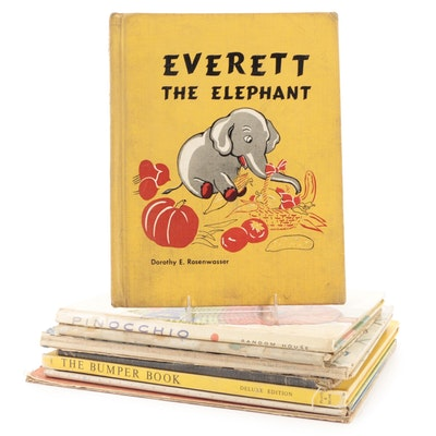 """""""Everett the Elephant"""" and More Children's Books, Early to Mid-20th Century"""