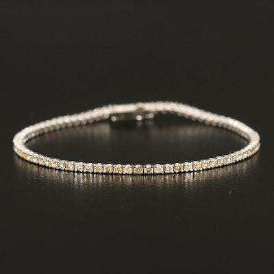 14K 2.15 CTW Diamond Line Bracelet