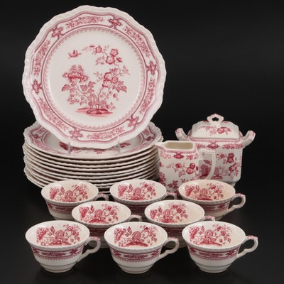 "Mason's ""Manchu"" Ironstone Dinnerware, Early to Mid 19th Century"