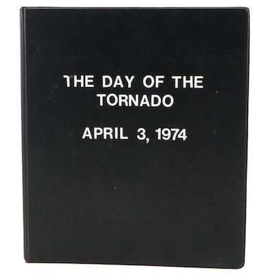 1974 Tornado Outbreak Personal Photographs in Binder