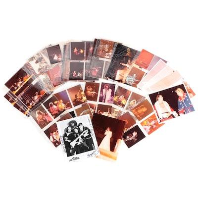 Van Halen, Rush, .38 Special, Other Personal Concert Photographs, c. 1981