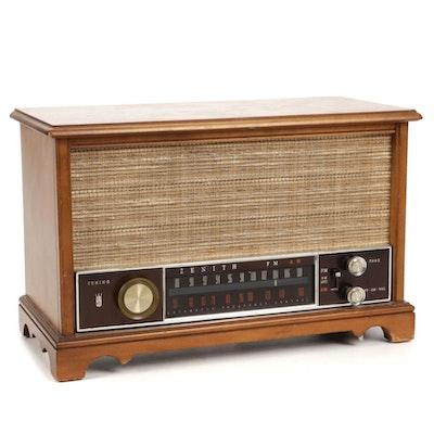 Zenith Long Distance Tube AM-FM Radio, Mid-20th Century