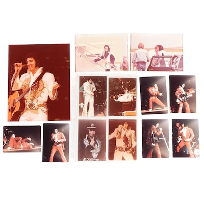 Elvis Presley Performance, Candid Photographs, Indianapolis, 1977
