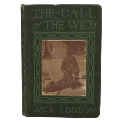 """Illustrated """"The Call of The Wild"""" by Jack London, 1906"""