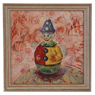 Giclée of Clown Roly Poly