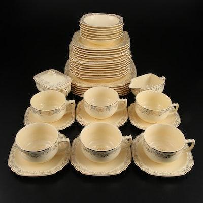 "Homer Laughlin ""Garland"" Ceramic Dinnerware, Early to Mid 20th Century"