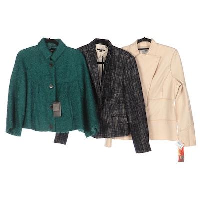 BOSS Hugo Boss and Bill Blass New York Wool and Mohair Blend Jackets