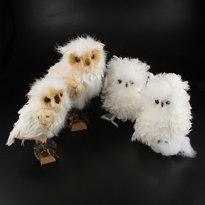 The Silky Way and Other Decorative Snowy Owl Figurines