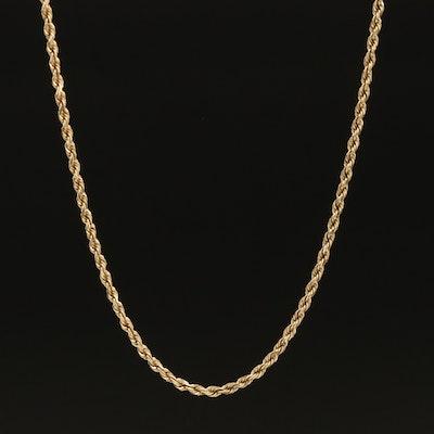 10K Rope Chain