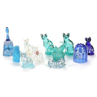 Fenton Glass Figurines and Table Decor