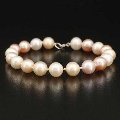 Near-Round Pearl Bracelet