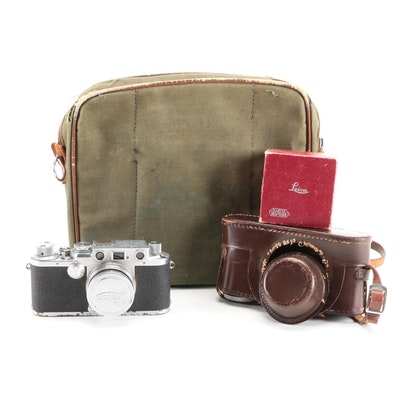 Leica Leitz IIIf Camera, Mid-20th C