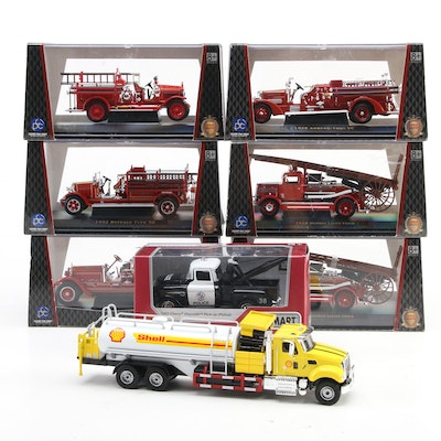 Lucky Die Cast Products, Kinsmart and Golden Wheel Diecast Model Cars