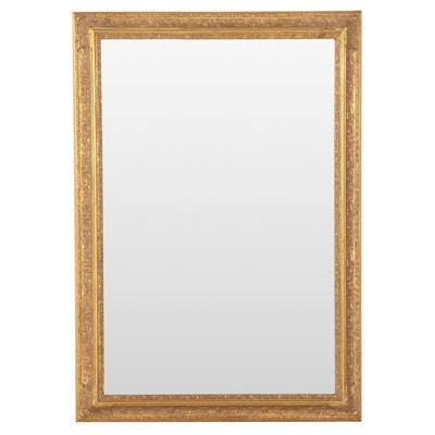Giltwood and Composition Mirror