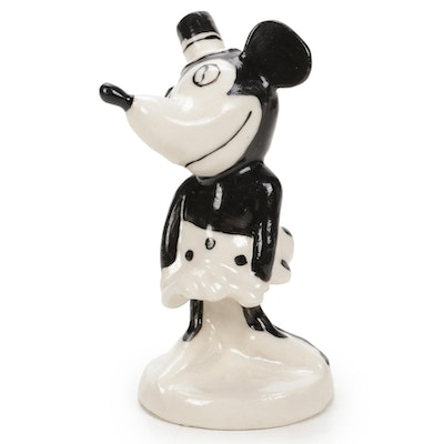German Made Hand-Painted Minnie Mouse Figurine
