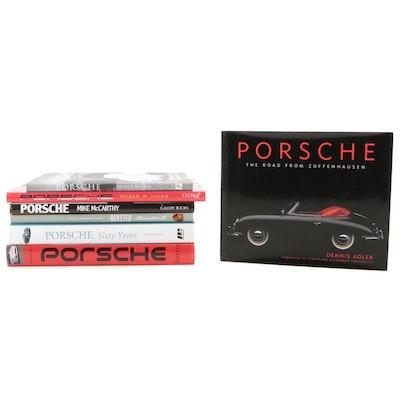 """First Edition """"Porsche: The Road from Zuffenhausen"""" and More Porsche Books"""