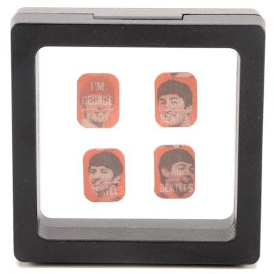 Vari-Vue The Beatles Lenticular Flicker Ring Inserts, 1960s