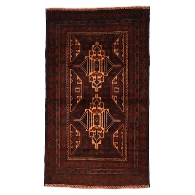 3'11 x 6'7 Hand-Knotted Area Rug