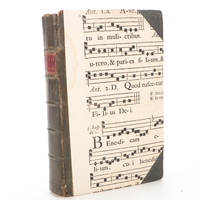 """Illustrated """"The New Musical and Universal Magazine,"""" c. 1770"""