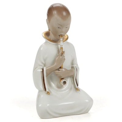 "Royal Copenhagen ""Opium Smoker"" Porcelain Figurine"