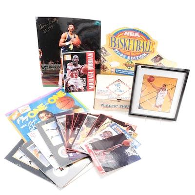 NBA Player Photos, Uncut Promo Cards, Jumbo Cards, Prints, Calendar, Autos