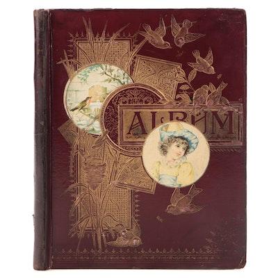 Scrapbook and Album, 1895