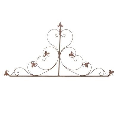 Decorative Wrought Iron Architectural Ornament