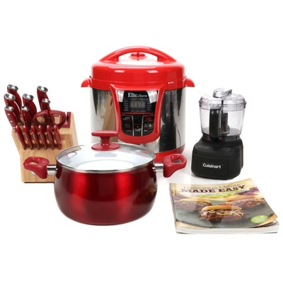 Cuisinart, Elite Bistro and Other Assorted Kitchen Appliances and Tools