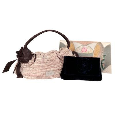 Lanvin en Bleu, Signature and Furst & Mooney Handbag and Clutches