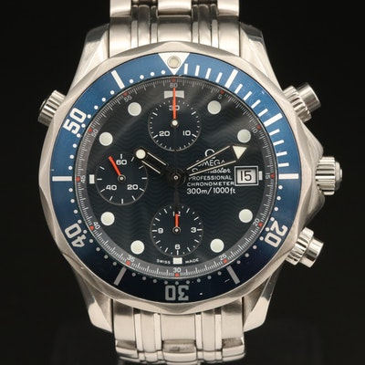 Omega Seamaster Professional Automatic Chronograph Wristwatch
