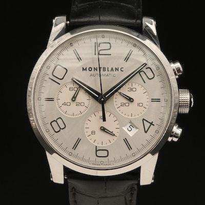 Montblanc Time Walker Meisterstuck Automatic Stainless Steel Wristwatch