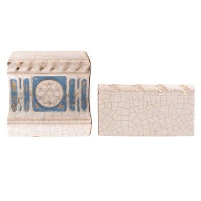 Rookwood Pottery Faïence Architectural Tiles, Early to Mid-20th Century