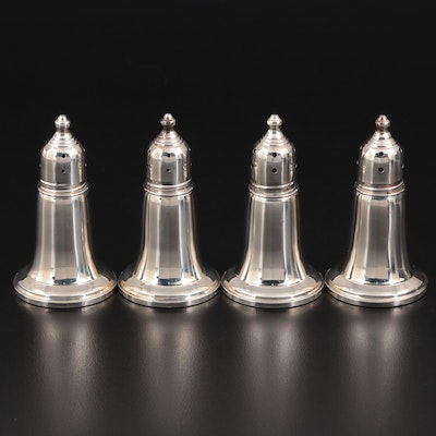 Saks Fifth Avenue Weighted Sterling Silver Shakers