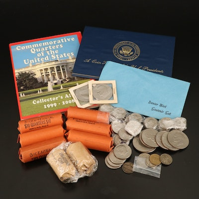 Collection of Vintage to Modern U.S. Coins