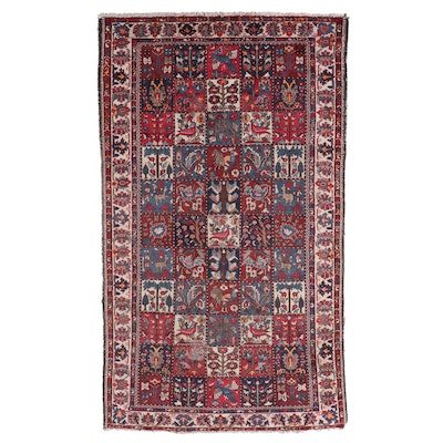 5'4 x 9'10 Hand-Knotted Persian Bakhtiari Area Rug