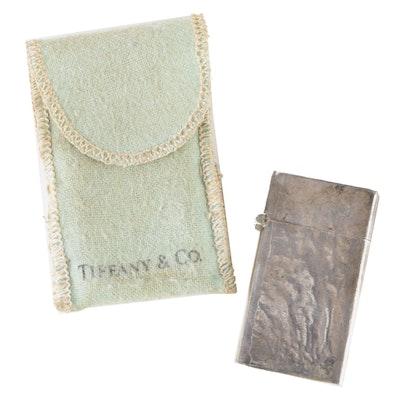 Tiffany & Co. Sterling Lighter, Mid 20th Century