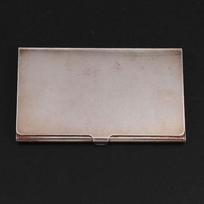 Tiffany & Co. Silver Plate Card Case