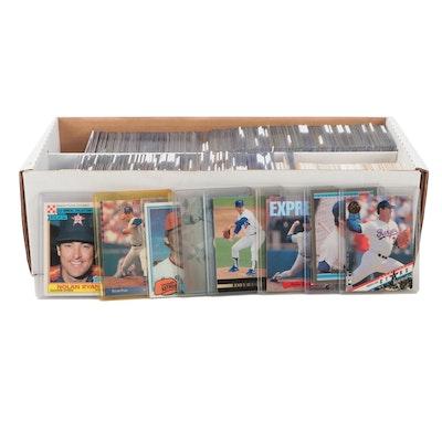 1980s-1990s Nolan Ryan Topps, Fleer, Upper Deck, and Other Baseball Cards