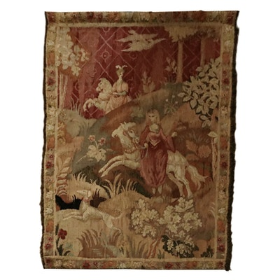 Handwoven French Louis XVI Tapestry, Late 18th Century