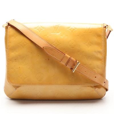 Louis Vuitton Thompson Street Flap Shoulder Bag in Monogram Vernis