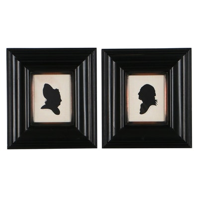 Wendy Schultz Wubbels Silhouette Portrait Paper Cut-Outs, 1999