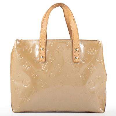 Louis Vuitton Reade PM Tote in Noisette Monogram Vernis and Vachetta Leather