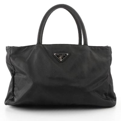 Prada Tote Bag in Black Tessuto Nylon