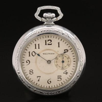 1891 Waltham Pocket Watch